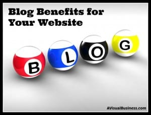 The benefits of blogging on your website are huge