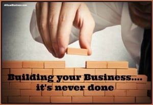 Continue to build your business, revise your website & social campaigns