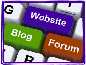 Your website is a great forum