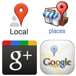 What's Google Plus, or rather Google Maps, or is that Google Places, wait, or Google Local? Help!