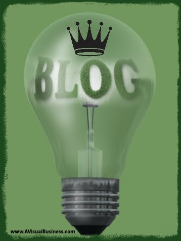 Content is King So Blog It Up
