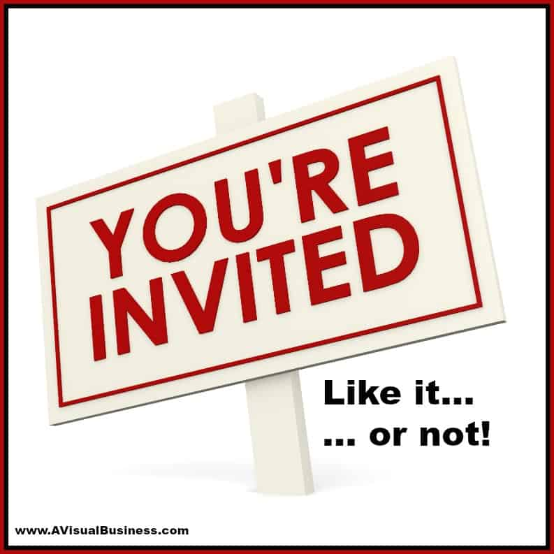 Thanks for the Facebook Invite but No thanks – Event Etiquette