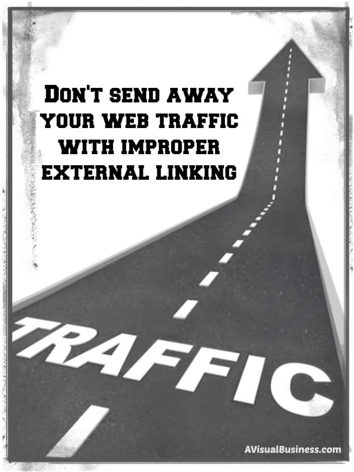 Don't Send Away Your Traffic – They Just Got There