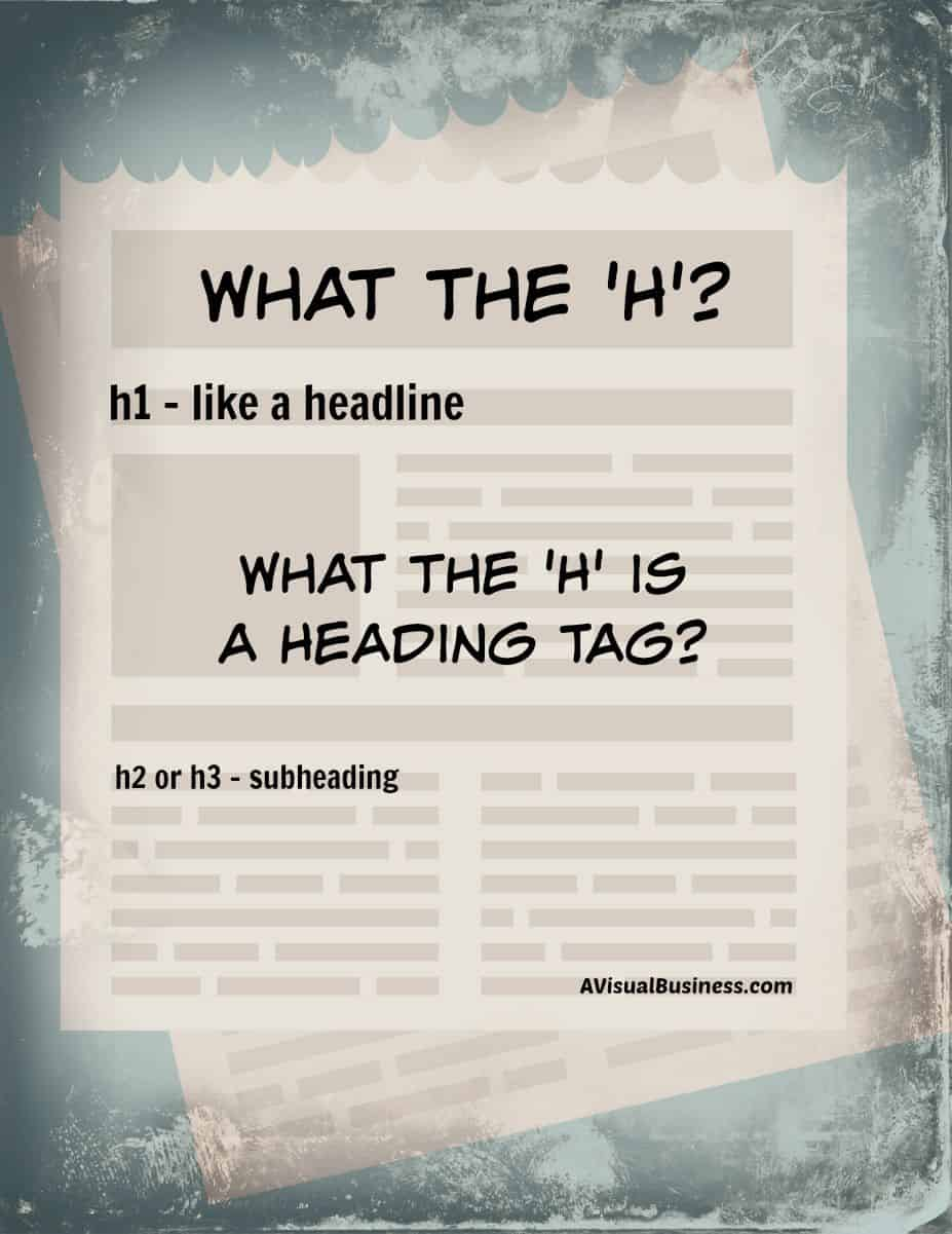 What the 'H' is a Heading Tag?