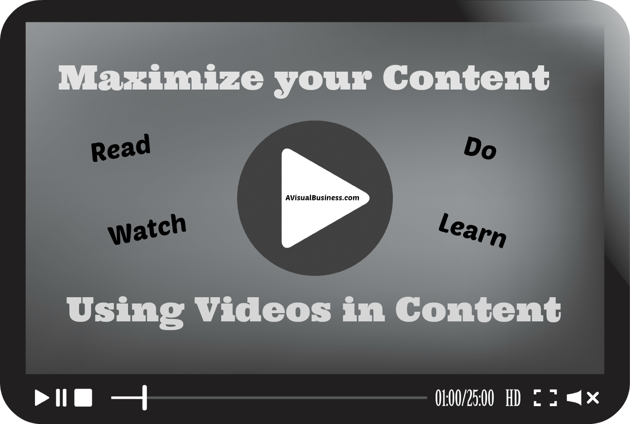 Maximize Your Content Value with Videos