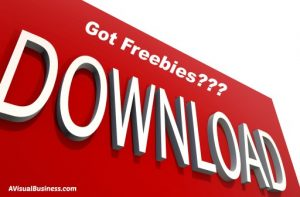 Get folks to your list with free downloads and stuff