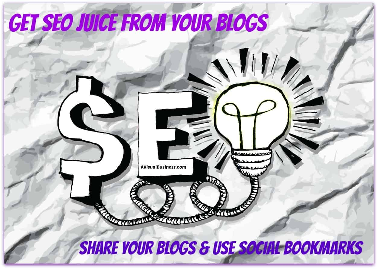 Easy Peasy Tips to Get Your Blog Noticed with SEO Juice, FREE