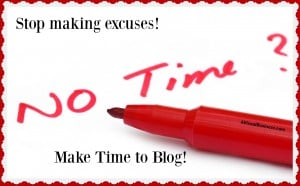 Make time to blog, it is worth it to your business