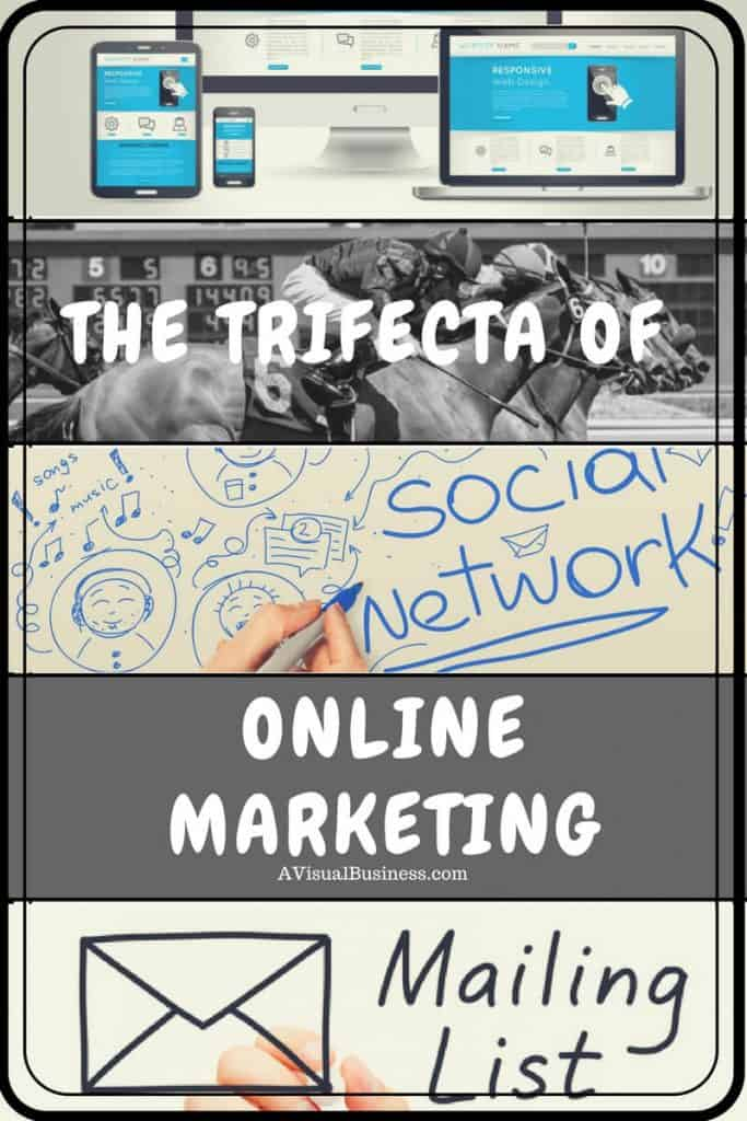 Use the trifecta of online marketing for your business