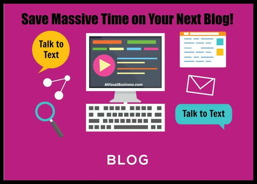 Save massive time on your blogs with talk to text
