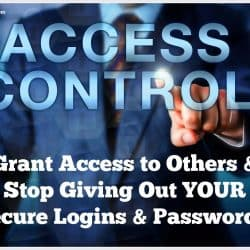 Stop giving away your power, grant access instead