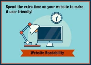 Make your consumers happy with a reader friendly site