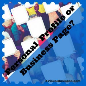 FB Pages differ from Personal Profiles - make them work