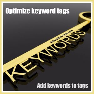 Optimize your website with keyword rich tags