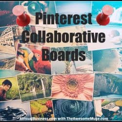 Use Pinterest collaborative boards to further your reach