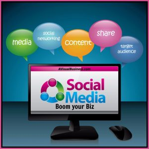 Use social media to share your business and reach your target market