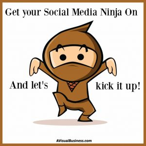 Kick it up and get your social media ninja on