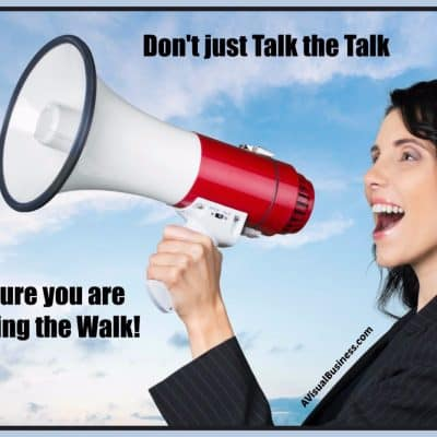 Do You Walk the Walk or Just Talk the Talk?