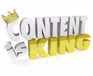 content is essential for website optimization