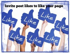 Don't forget to invite those who are liking your posts to like your page with this quick and easy video