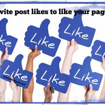 How To Invite Your Facebook Engagers to 'Like' Your Page