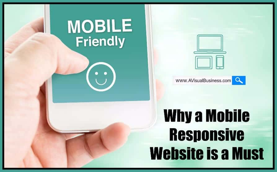 Be sure your website is mobile responsive for better conversions
