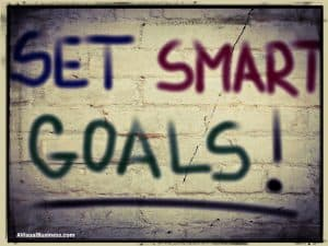 Take a look at your biz goals and be sure you are on track for success
