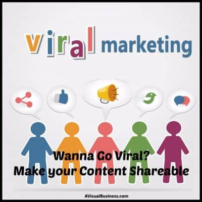 Wanna Go Viral? Make it Shareable