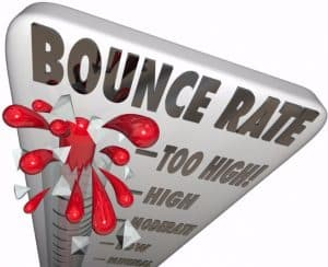 high bounce rate doesn't indicate bad site