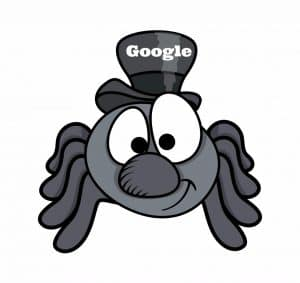 Search engine spiders crawling your site