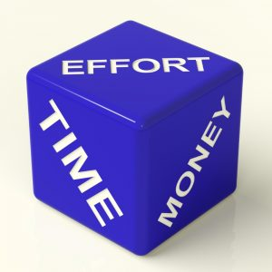 save time & effort by spending money on outsourcing