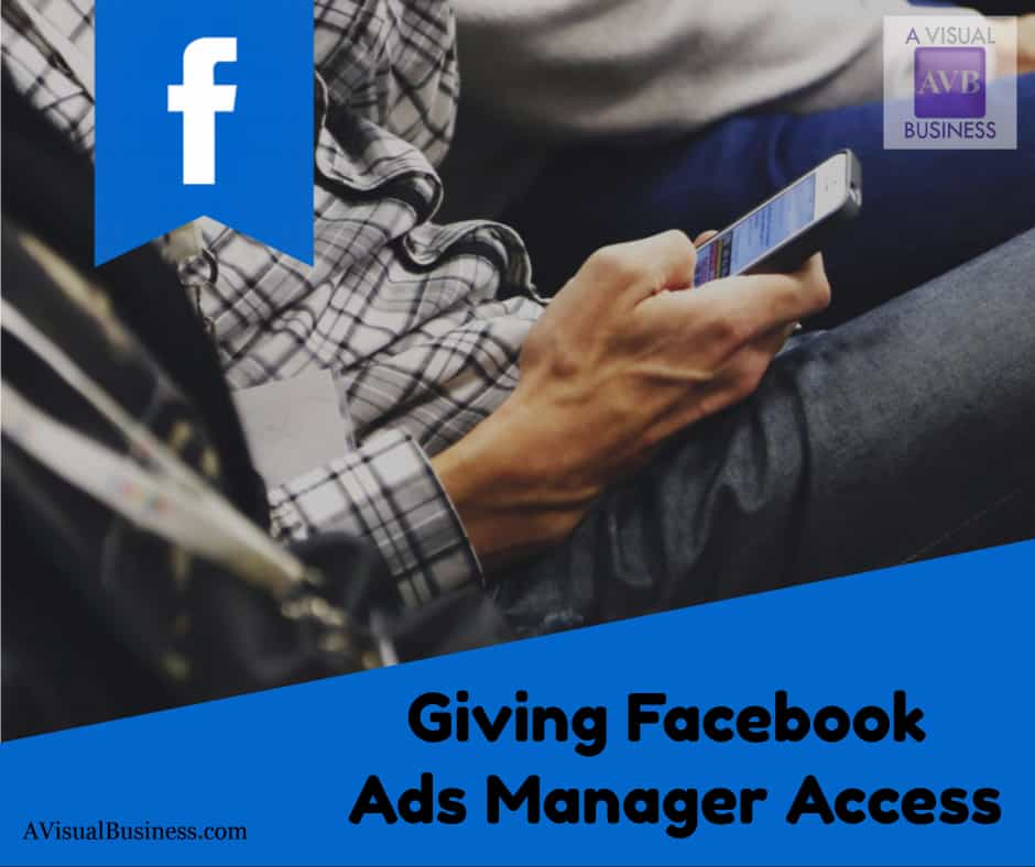 Give FB Ads Manager access w/o your personal CC too!