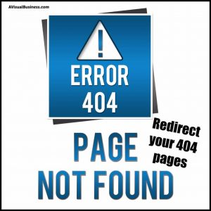 Redirect your 404 pages using 301 Redirect