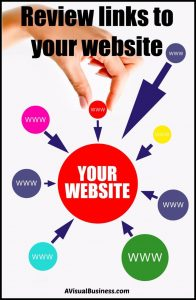 Check out the links that come to your website