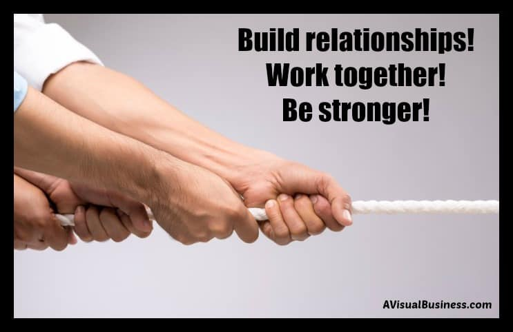 Build relationships for lasting success in business