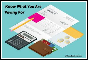 Get the value you deserve by knowing what you are paying for
