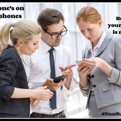 Everyone's on mobile phones - be sure you are too