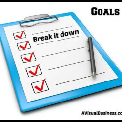 Create steps for each of your goals