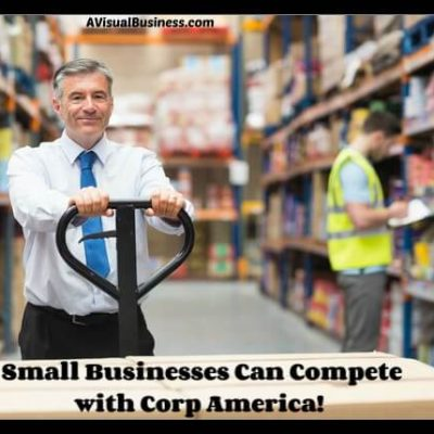 small business can compete with corporate America