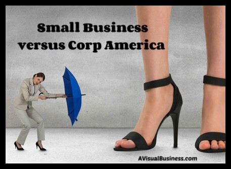 small businesses can compete with big box businesses