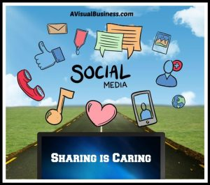 Share about business online to help you and others