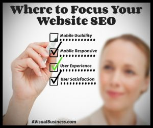 Where to focus your SEO efforts for maximum benefit
