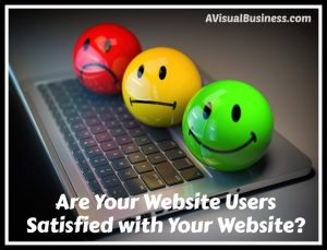 Are your users satisfied with your website