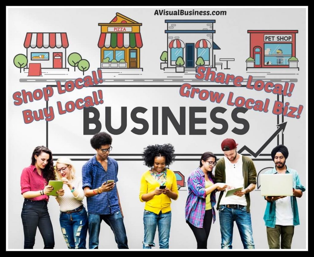 Help small businesses grow by caring and sharing