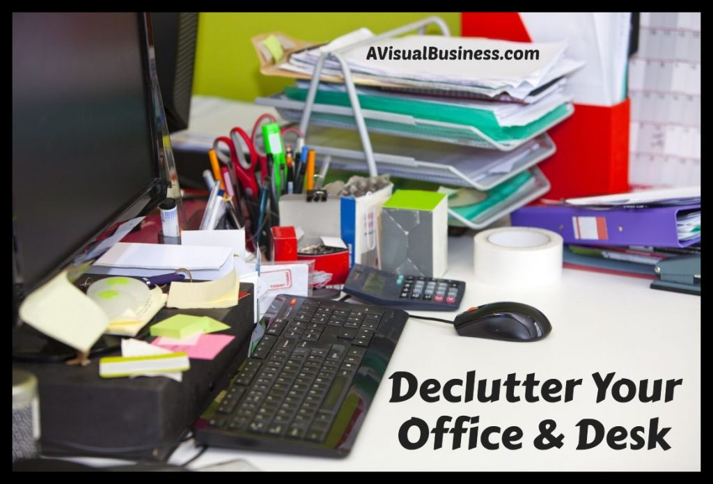 Spring clean your messy desk