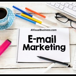 Email marketing helps stay top of mind with your target market